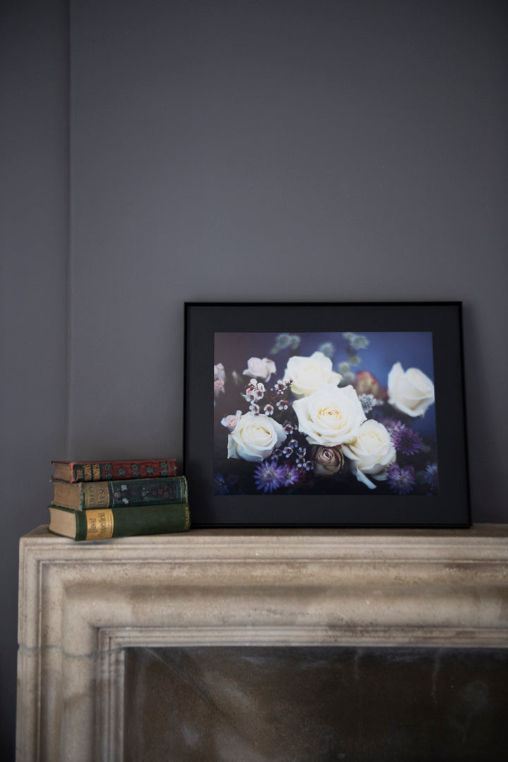 Winter Rose Frame