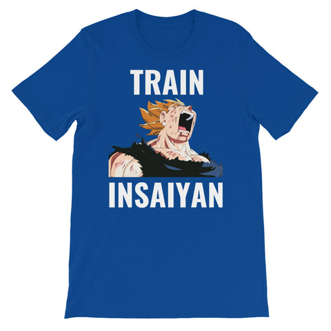 BLUE - TRAIN INSAIYAN  T-SHIRT