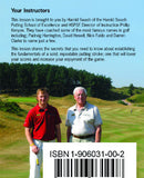 Pocketshots Putting, fundamentals back cover with Harold Swash.