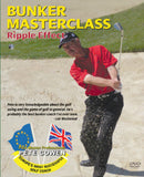 Bunker Masterclass the Ripple Effect DVD front cover with Pete Cowen.