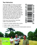 Pocketshots swing back cover with Steve Gould and two other men in a field.