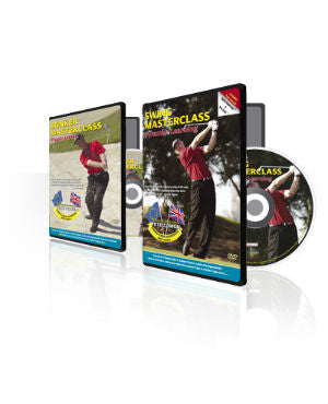 Bunker and Swing Masterclass DVDs front covers with the disc visible