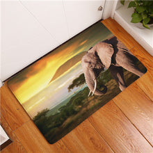 Anti-Slip Elephant Floor Mat