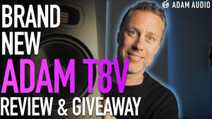 Adam T8V Monitor Review + GIVEAWAY