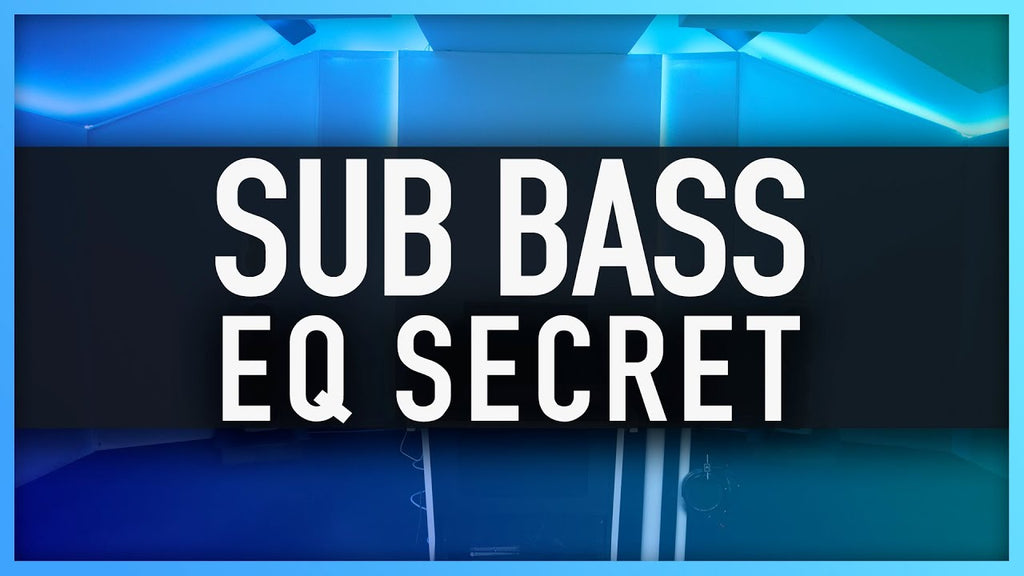 How To EQ SUB BASS
