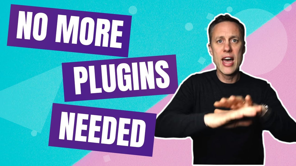 THIS IS WHY YOU DON'T NEED MORE PLUGINS