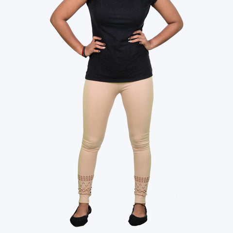Sandal colour legging