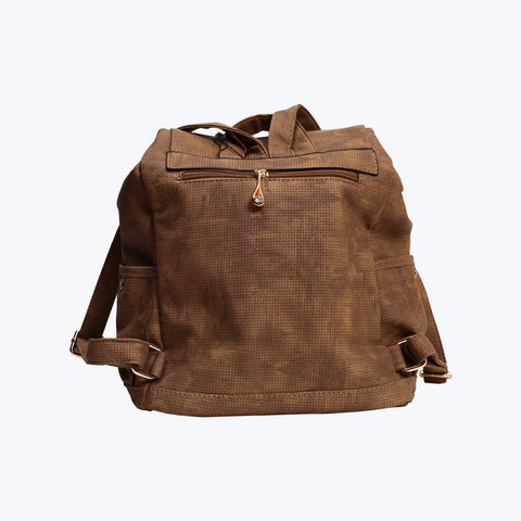 Wooden colour bag