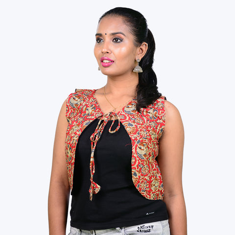 Ethnic Red Jacket