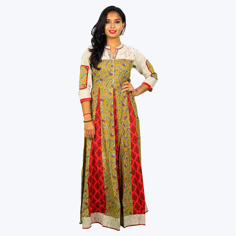 Women Printed Trendy Anarkali