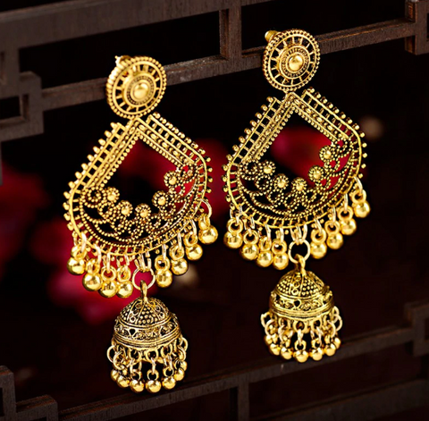 Indian Earrings Vintage Drop Earring