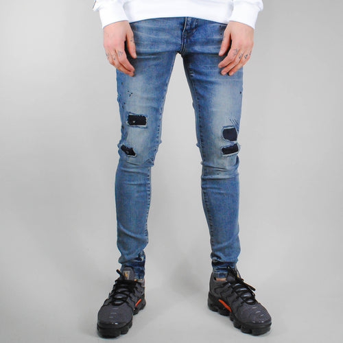 Good for Nothing Pantalon Splatter - GFNJEANS022
