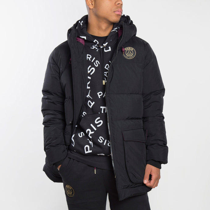 Jordan Parka Jordan X Paris SaInt -Germain - CW3173-010 - Colección Chico (EXCLUSIVO)