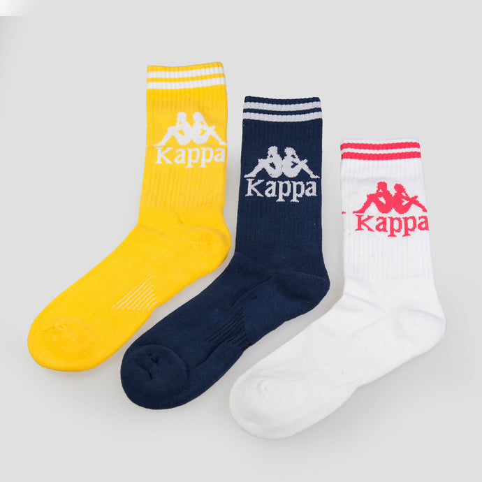 Kappa Pack 3 Calcetines Soccer - 3030QLD-940 - Colección Unisex