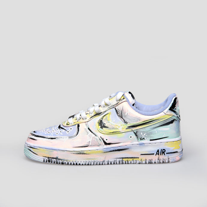 Nike Zapatilla Air Force 1´07 Custom IV - CW2288-111 Custom - Colección Unisex (EXCLUSIVO)