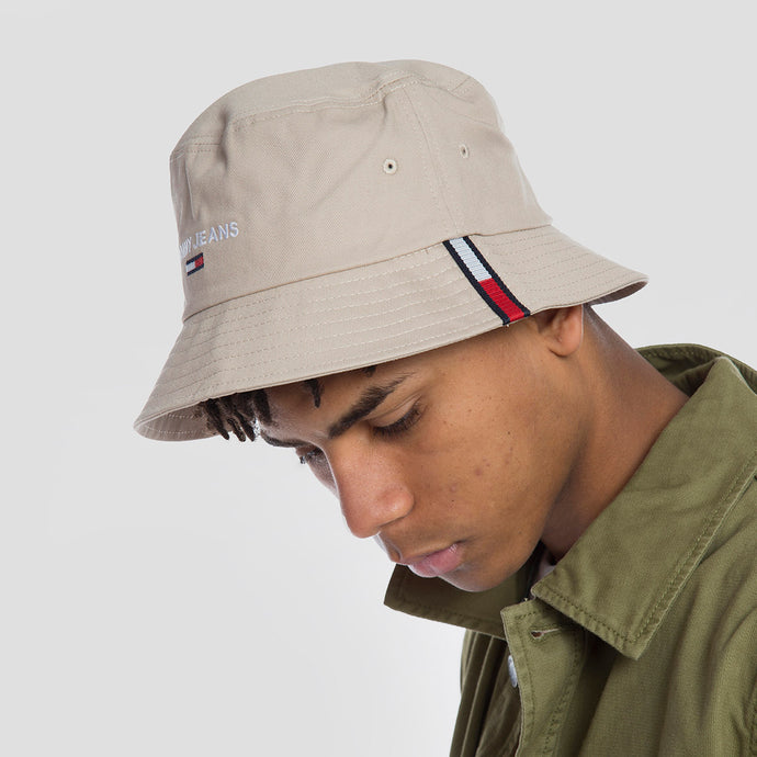 Tommy Jeans Bucket Organic Cotton - AM0AM07176 - Colección Chico