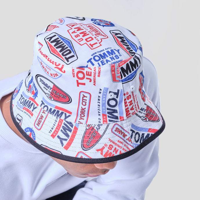 Tommy Jeans Bucket Reversible - AM0AM06379 - Colección Unisex