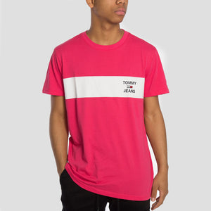 Tommy Jeans Camiseta Chest Stripe - DM0DM07858-T1K - Colección Chico