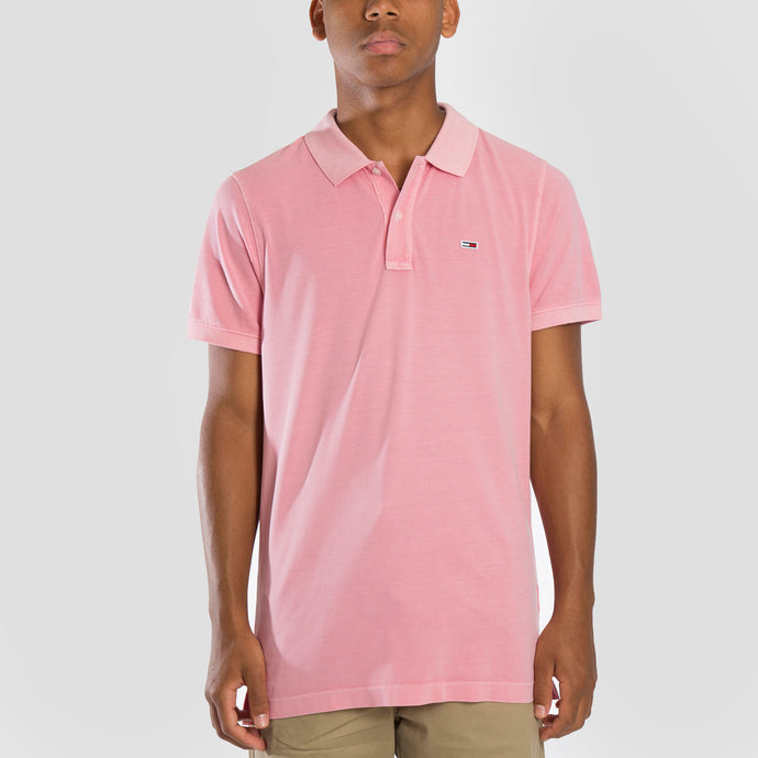 Tommy Jeans Polo Lightweight - DM0DM08336-PNK - Colección Chico