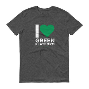I Heart Green Platform Colour T-Shirt