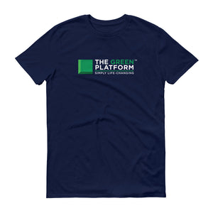 Green Platform Logo Short-Sleeve T-Shirt