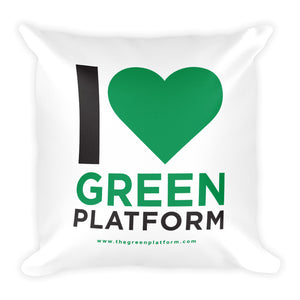 Green Platform Cushion