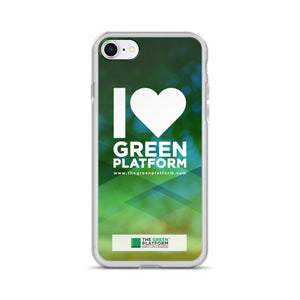 I Love the Green Platform iPhone Cases