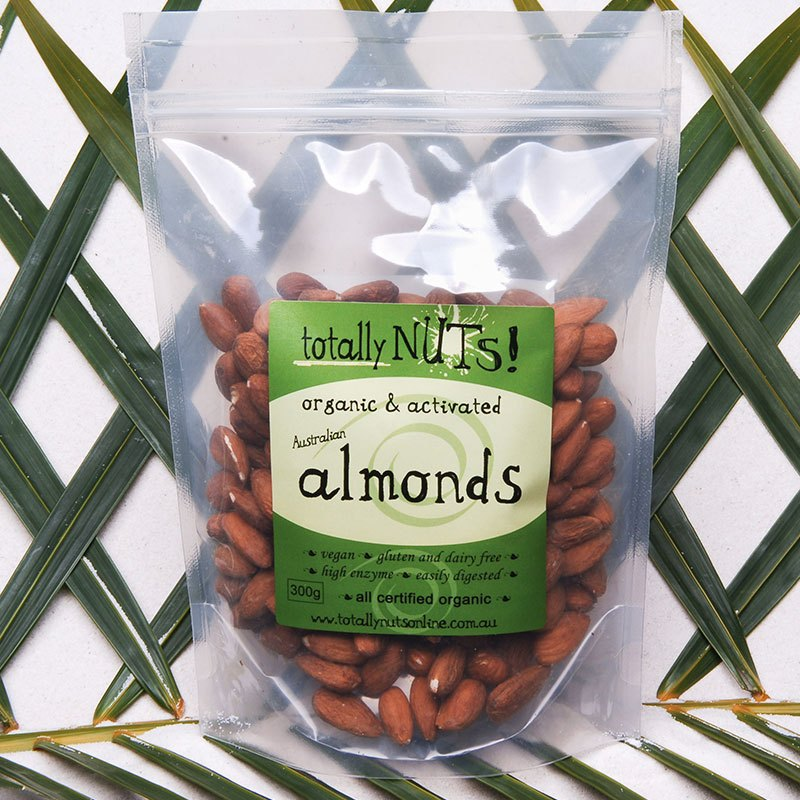 Organic Activated Almonds from totally nuts!