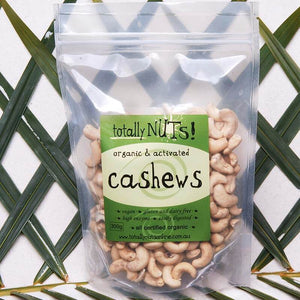 Organic Activated Cashews from totally nuts!