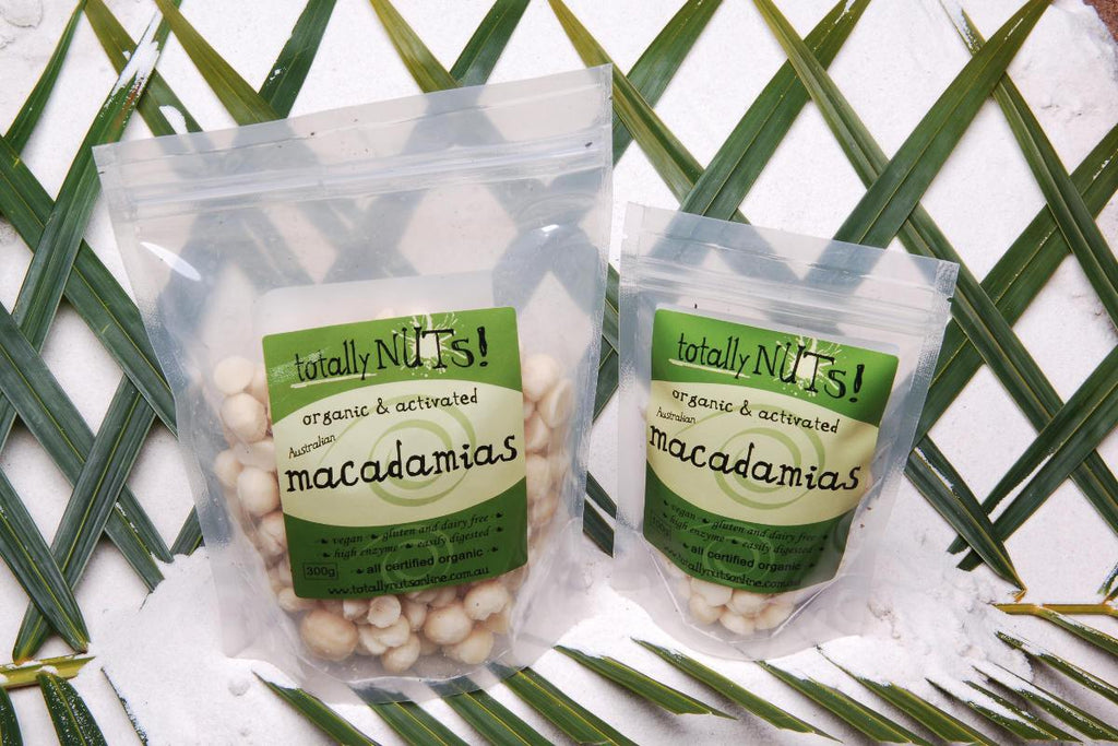 Organic Activated Macadamias from totally nuts!