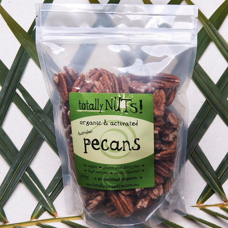 Organic Activated Pecans from totally nuts!