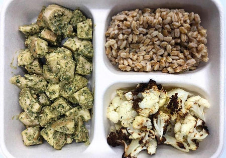 Basil Cashew Pesto Chicken Meal