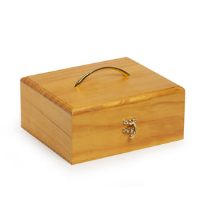 Wooden 30 Essential Oils Box