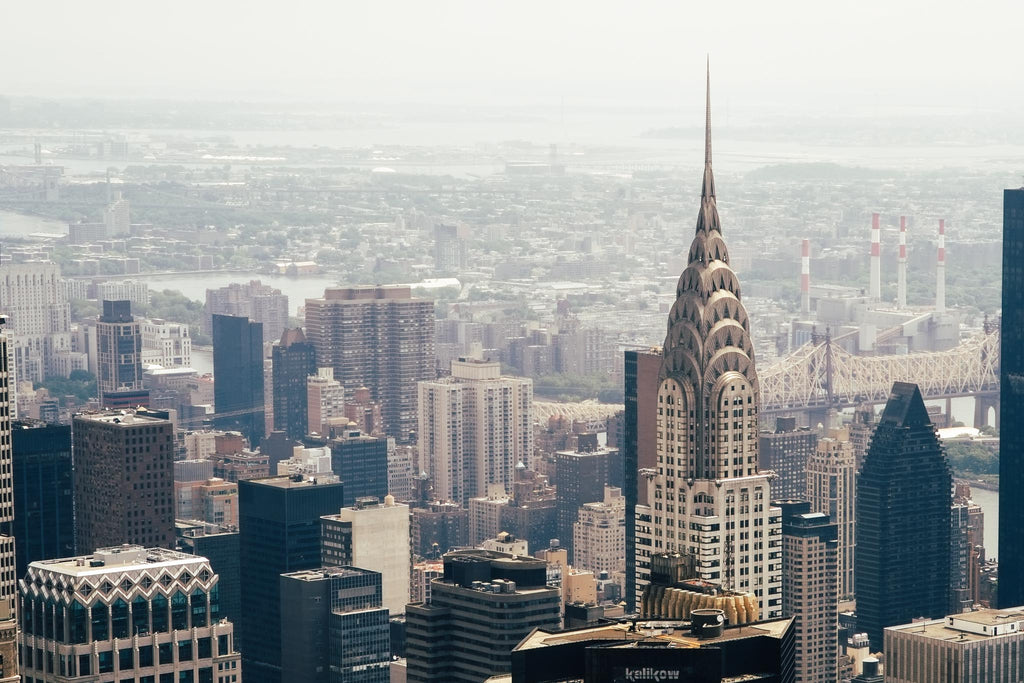 The New York Skyline including the Chrysler Building. Photo by Mehrdad Abedi