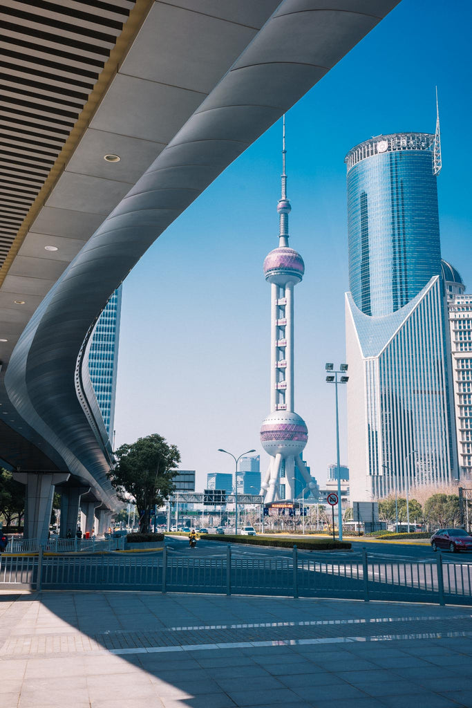 Oriental Pearl Tower and Bank of China Tower in Shanghai - Photo by Mehrdad Abedi
