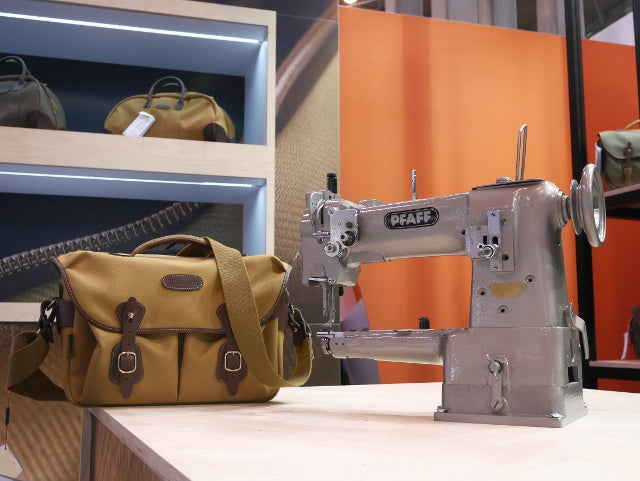 The Billingham first sewing machine made by Pfaff and the Billingham Hadley One