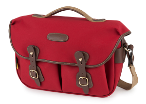 Hadley Pro 2020 Camera Bag in Burgundy Canvas/Chocolate Leather