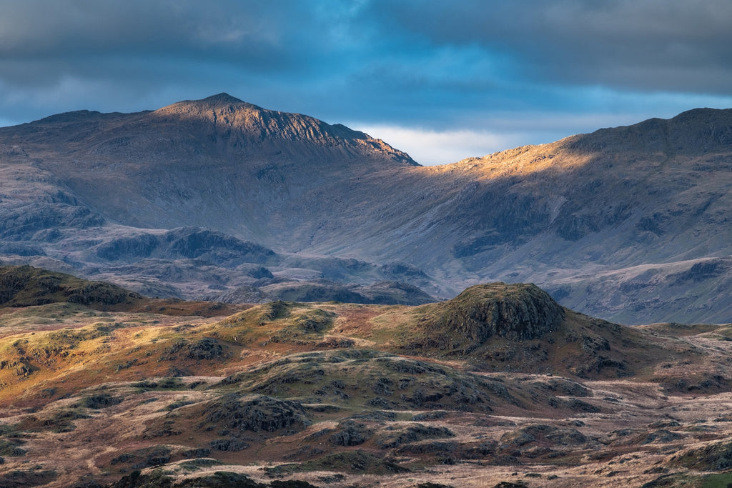 Bow Fell at Dusk - Photo by Mark Gilligan