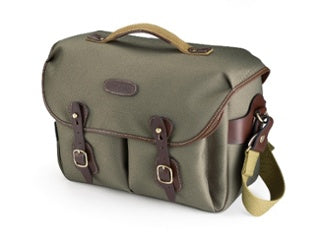 Billingham Hadley One in Sage FibreNyte / Chocolate Leather