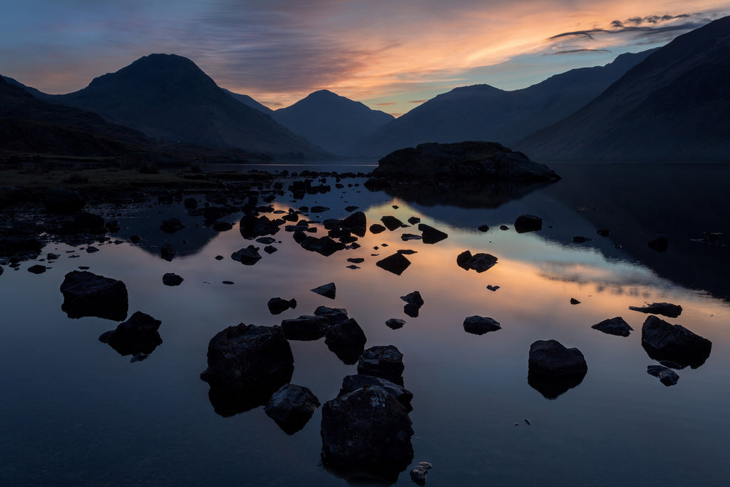 First Light on Wast Water - Photo by Mark Gilligan