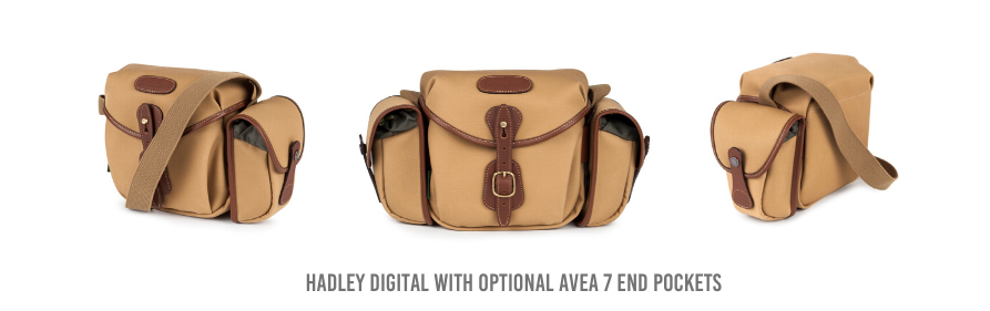 Billingam Hadley Digital with optional AVEA 7 End Pockets