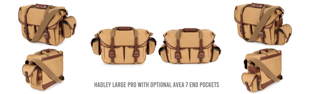 Billingham Hadley Large Pro with optional AVEA 7 end pockets