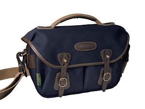 Billingham Hadley Small Pro Camera Bag (Navy Canvas / Chocolate Leather)