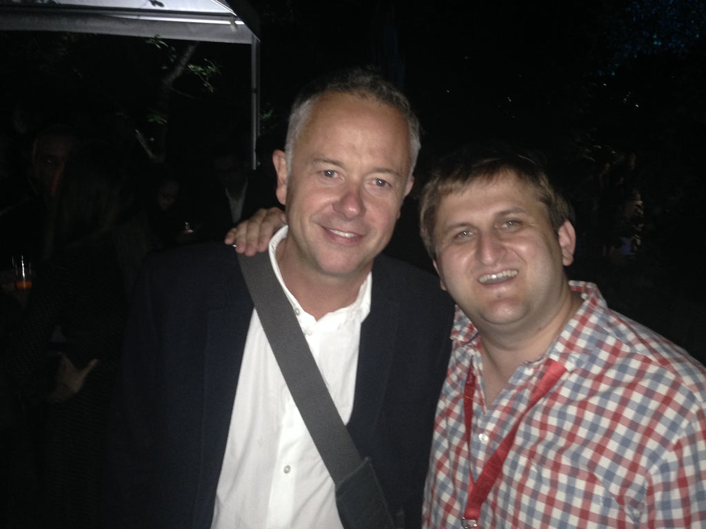 Oggi Tomic with Michael Winterbottom
