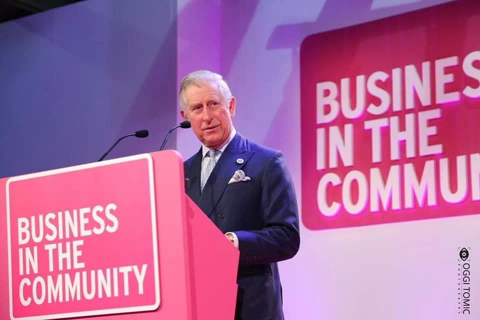 HRH Prince Charles - Business in the Community - Photo by Oggi Tomic