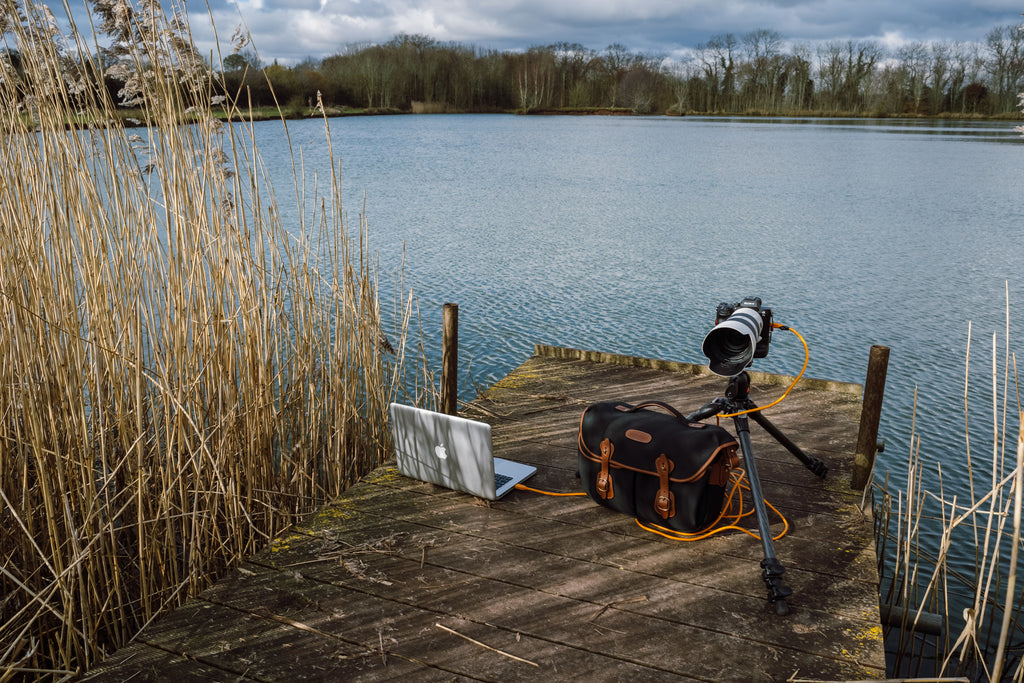 On location in Worcestershire with the Hadley Pro 2020. Photo by Chris Johnson