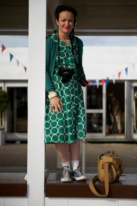 Lara at Goodwood Revival - © Thor Haley