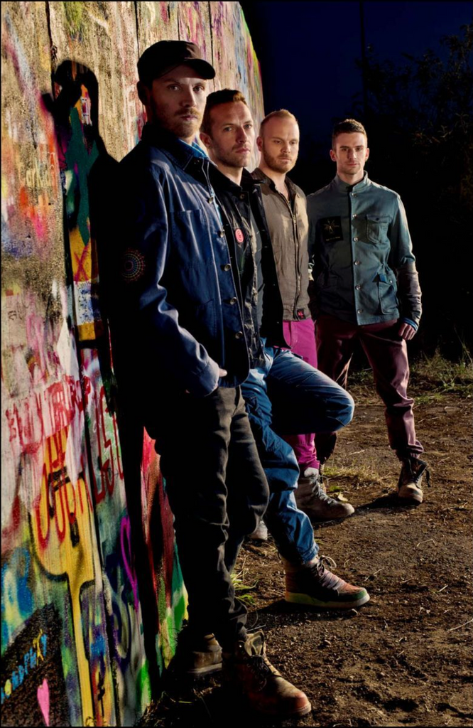 Coldplay shot for their album Mylo Xyloto - Photo by Sarah Lee