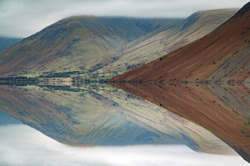 Screes and Wast Water Mirror - Photo by Mark Gilligan