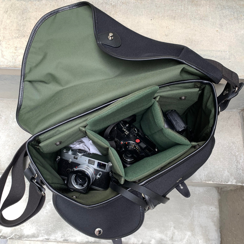 John Sypal's Billingham Hadley One Camera Bag with Leica MP, Leica M6 and Ricoh GRD